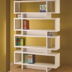 White Modern Bookcase