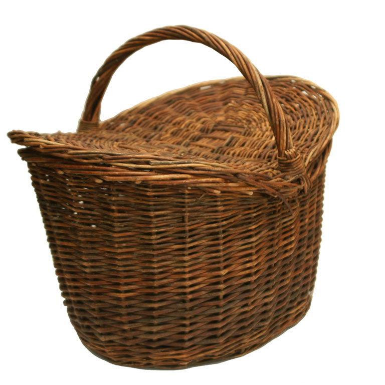 Image of: Wicker Picnic Basket