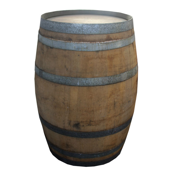 Image of: Wine Barrel Bar Table