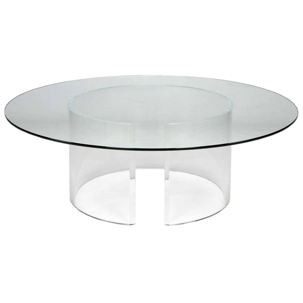 acrylic coffee table australia