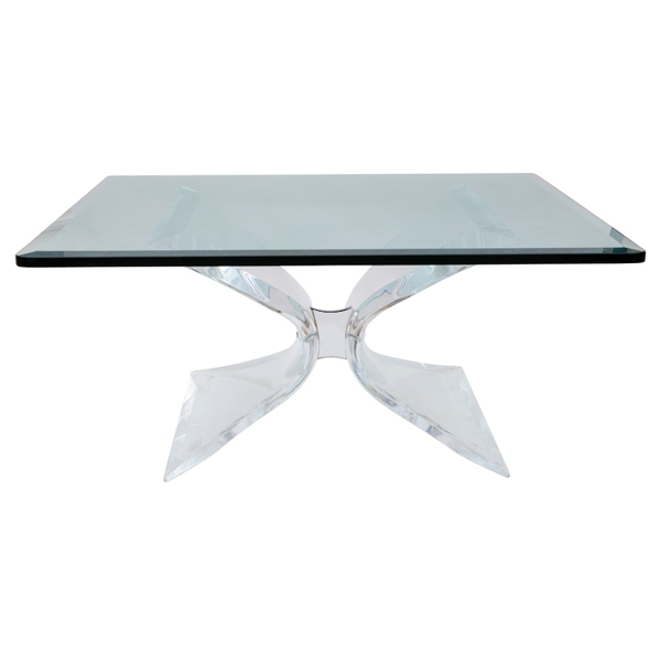 Image of: acrylic coffee table ikea