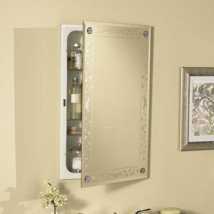 awesome mirrored medicine cabinet