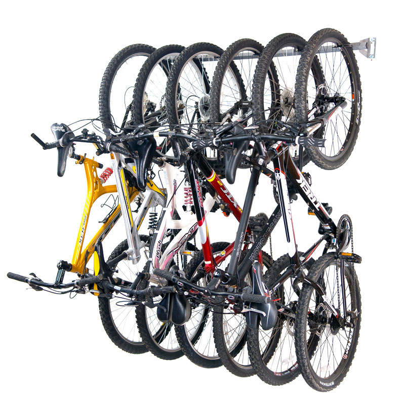 Image of: bike rack garage ideas