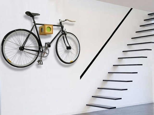 Image of: bike rack garage images ideas