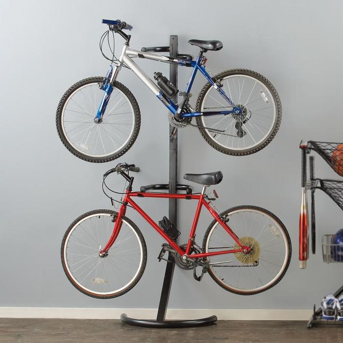 Image of: bike rack garage images