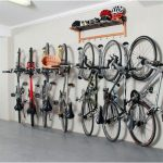 bike rack garage storage