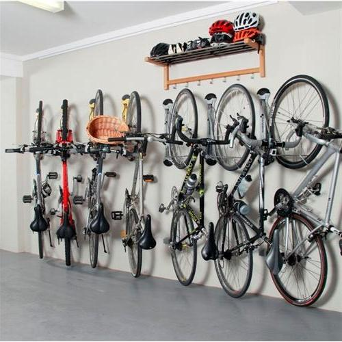Image of: bike rack garage storage