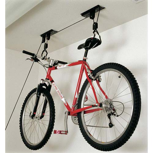 Image of: bike rack garage