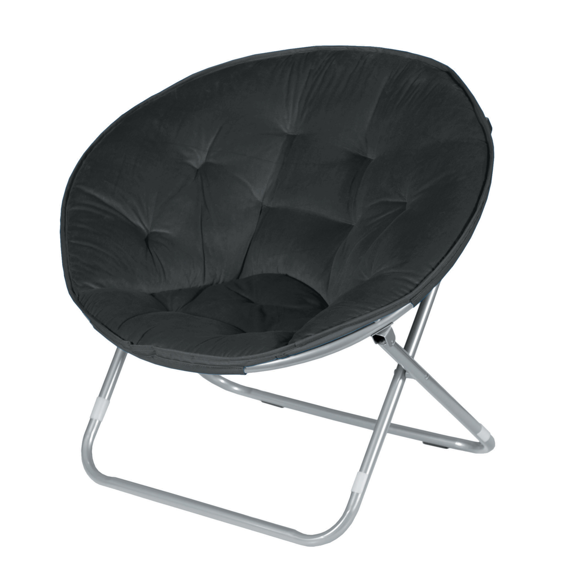 Picture of: black saucer chair