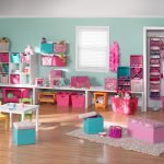 childrens Playroom Furniture with pink
