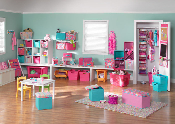 Picture of: childrens Playroom Furniture with pink