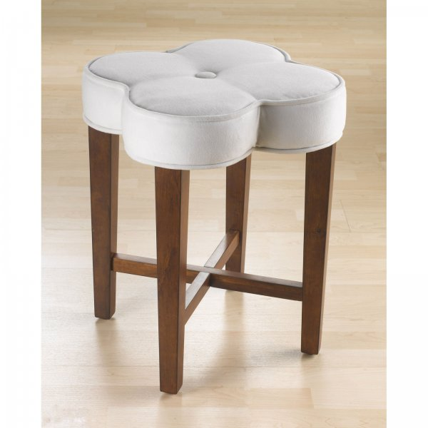 Picture of: clover vanity stool