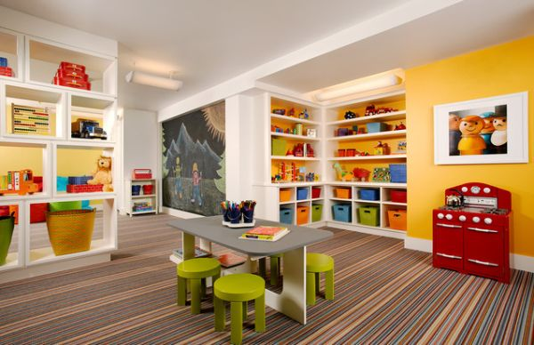 Picture of: colorful Playroom Furniture