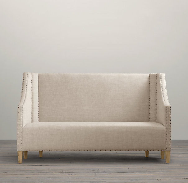 contemporary settee sofa