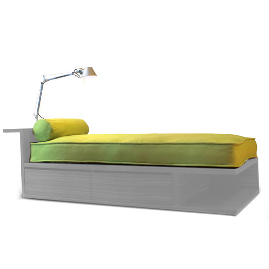 Picture of: daybed cover lime