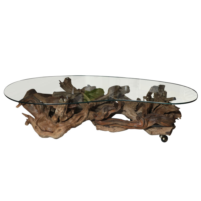 Image of: driftwood coffee table designs