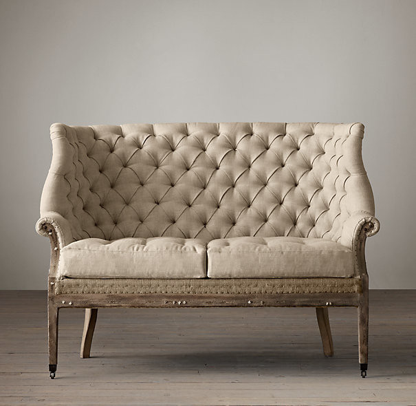 Picture of: eclectic settee sofa