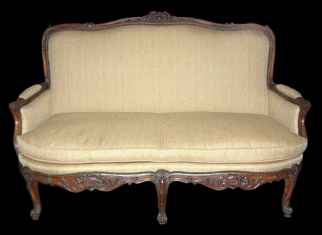 Picture of: fench settee sofa