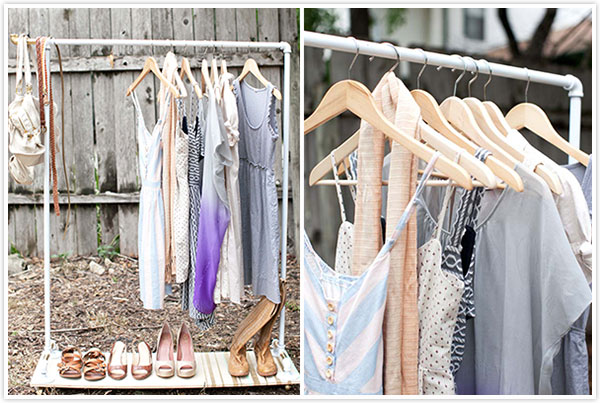 Image of: garment racks ideas images