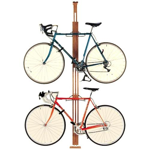 Image of: Unique great ideas for bike rack garage