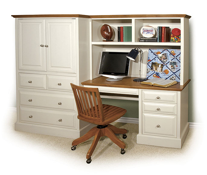 Image of: ideas desk armoire