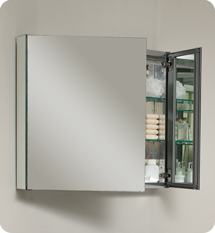 Image of: mirrored medicine cabinet design