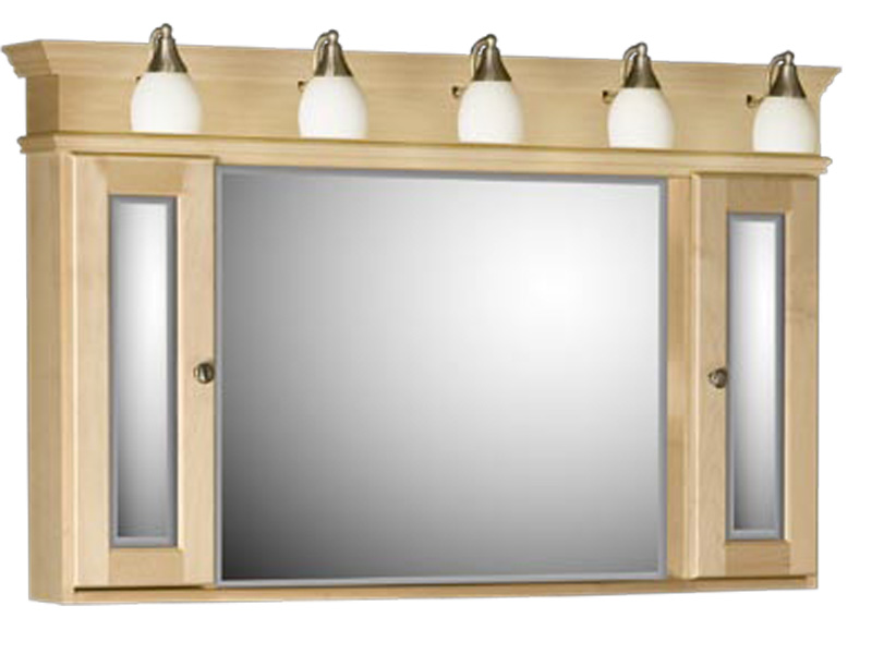 Image of: mirrored medicine cabinet image