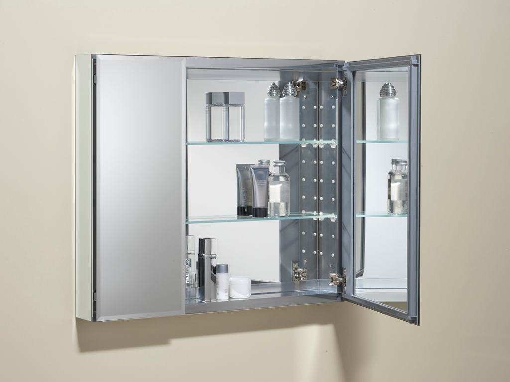 Image of: mirrored medicine cabinet