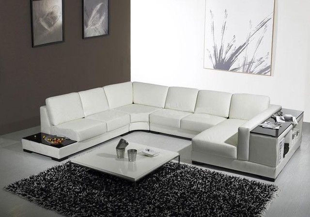 Image of: modern sectional sofas