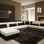 modern white sectional sofa