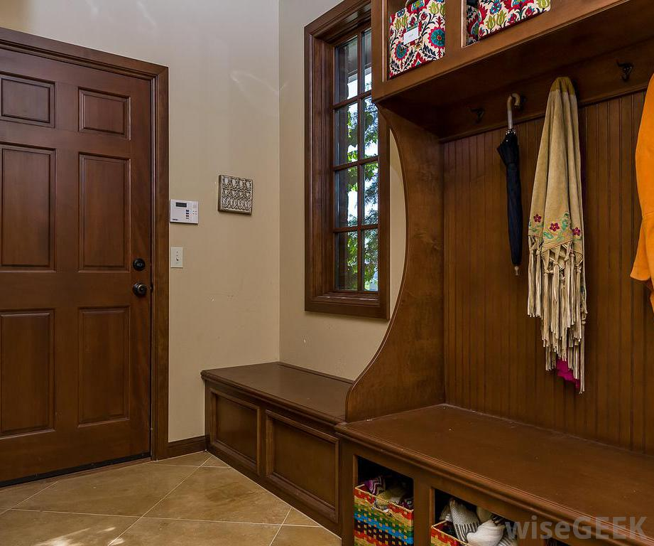 Image of: mudroom bench design
