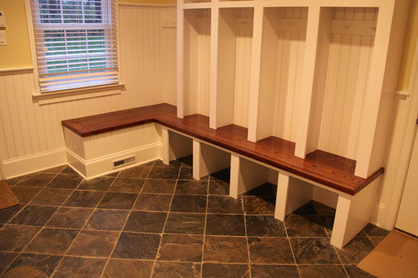 Image of: Big mudroom bench ideas