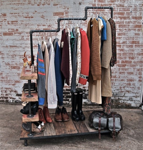 Image of: nice garment racks