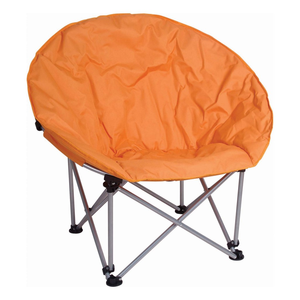 Picture of: orange saucer chair