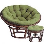 Papasan Chairs Soft Green