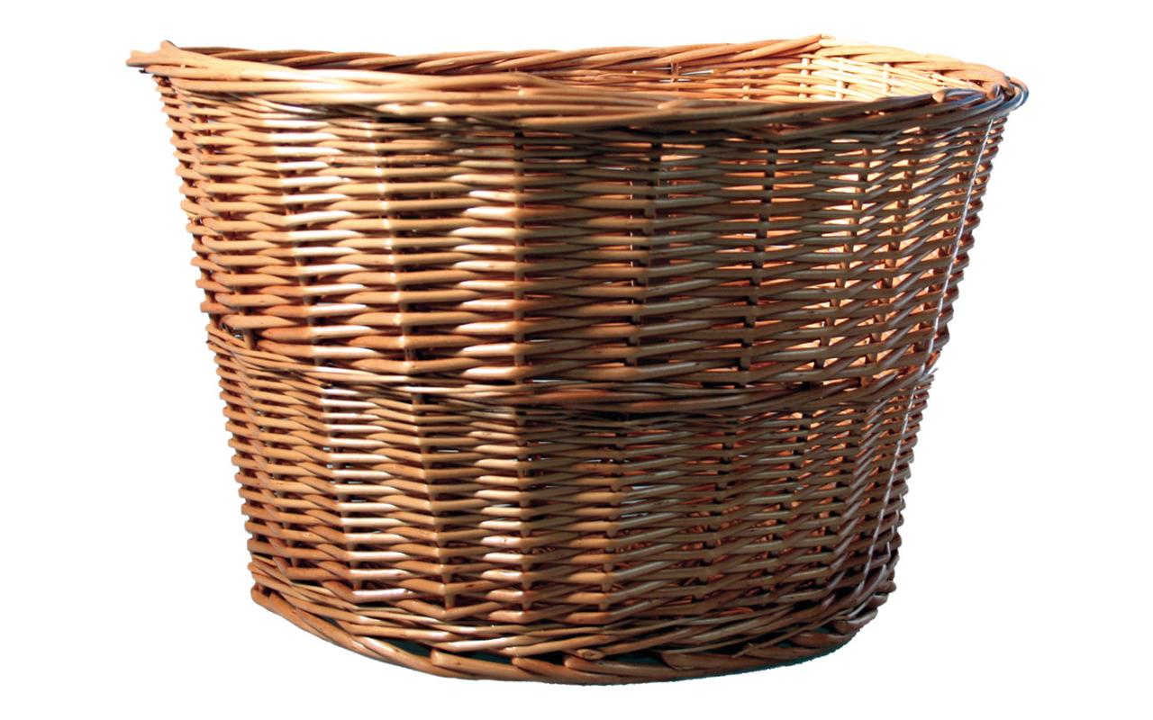 Image of: part Wicker Basket