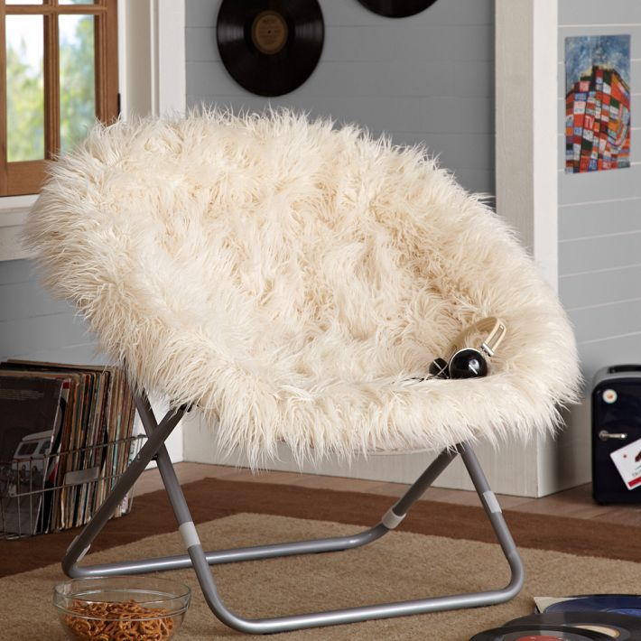 Picture of: Rusbrush Saucer Chair
