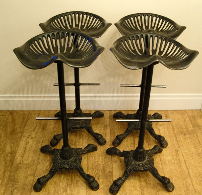 tractor seat bar stools paint