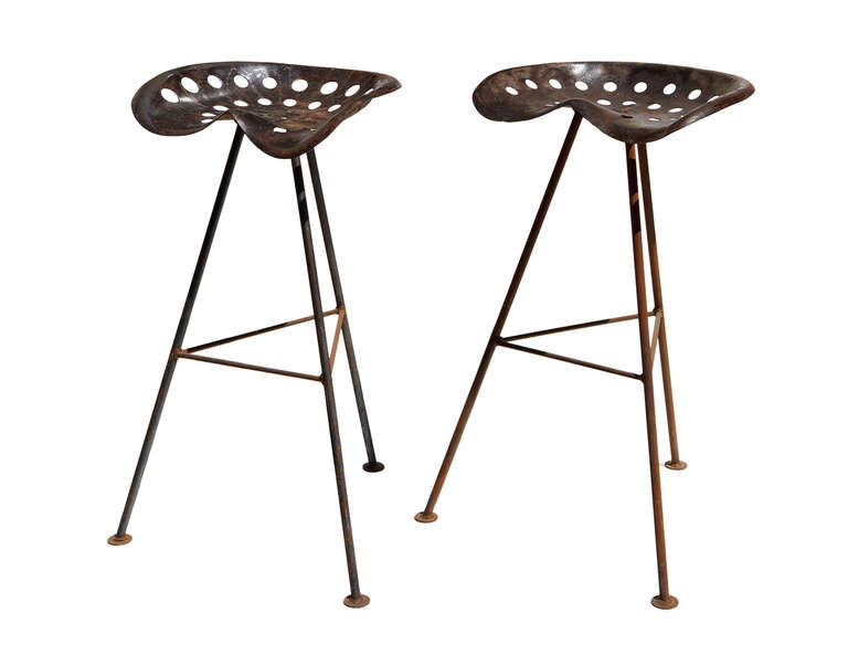 Image of: tractor seat bar stools picture