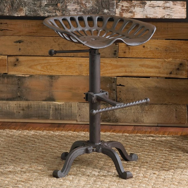 Image of: tractor seat bar stools