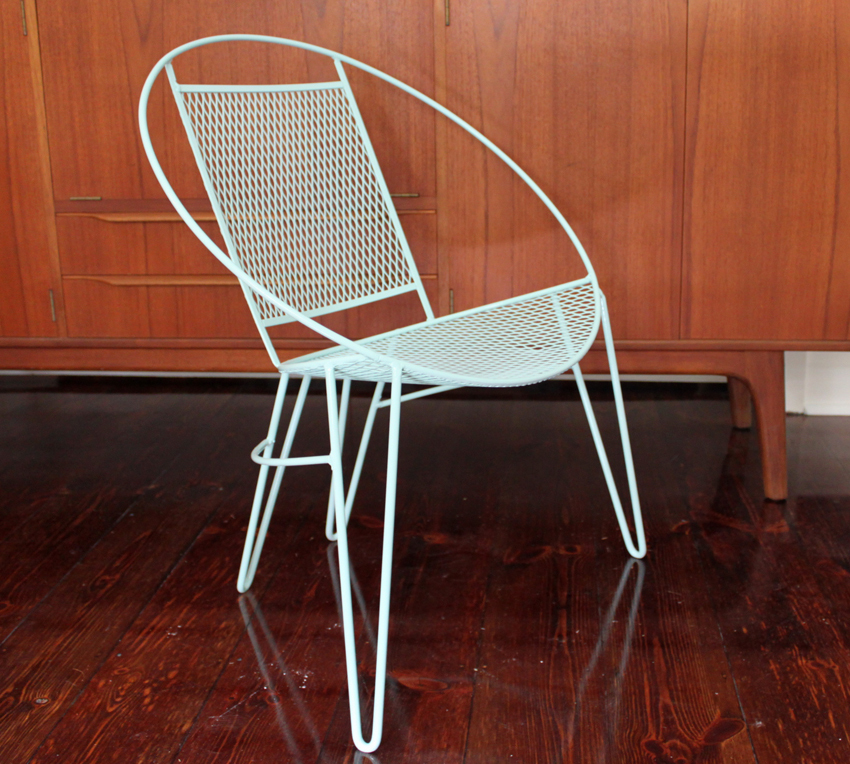 Picture of: vintage saucer chair