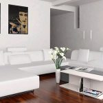 white sectional sofa modern