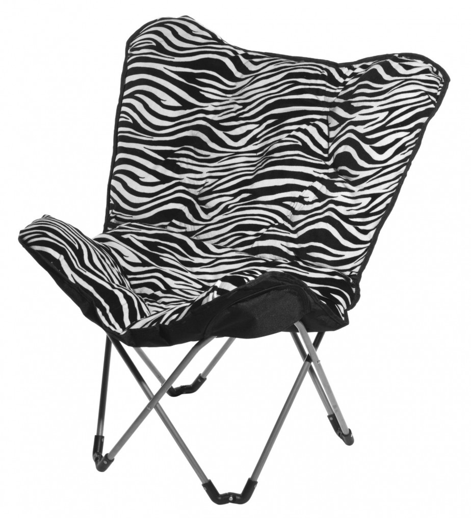 Picture of: zebra saucer chair ideas