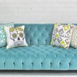 Affordable Tufted Velvet Sofa