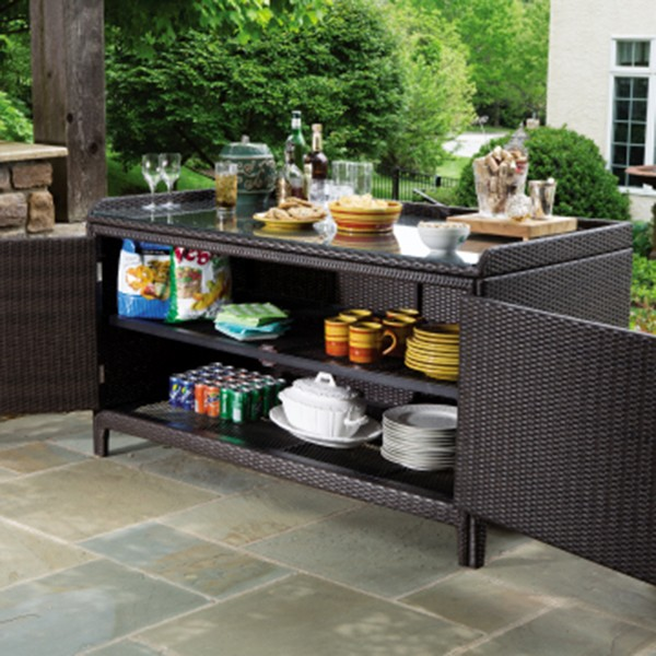 Amazing Outdoor Console Table