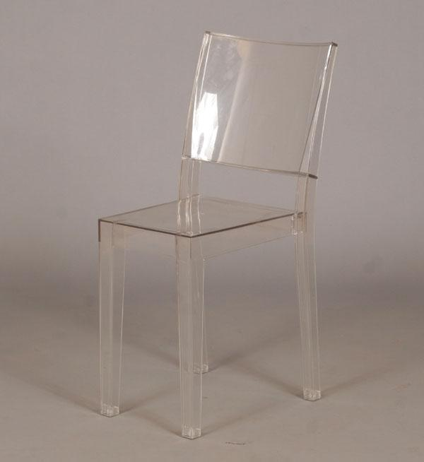 Antique Lucite Chairs