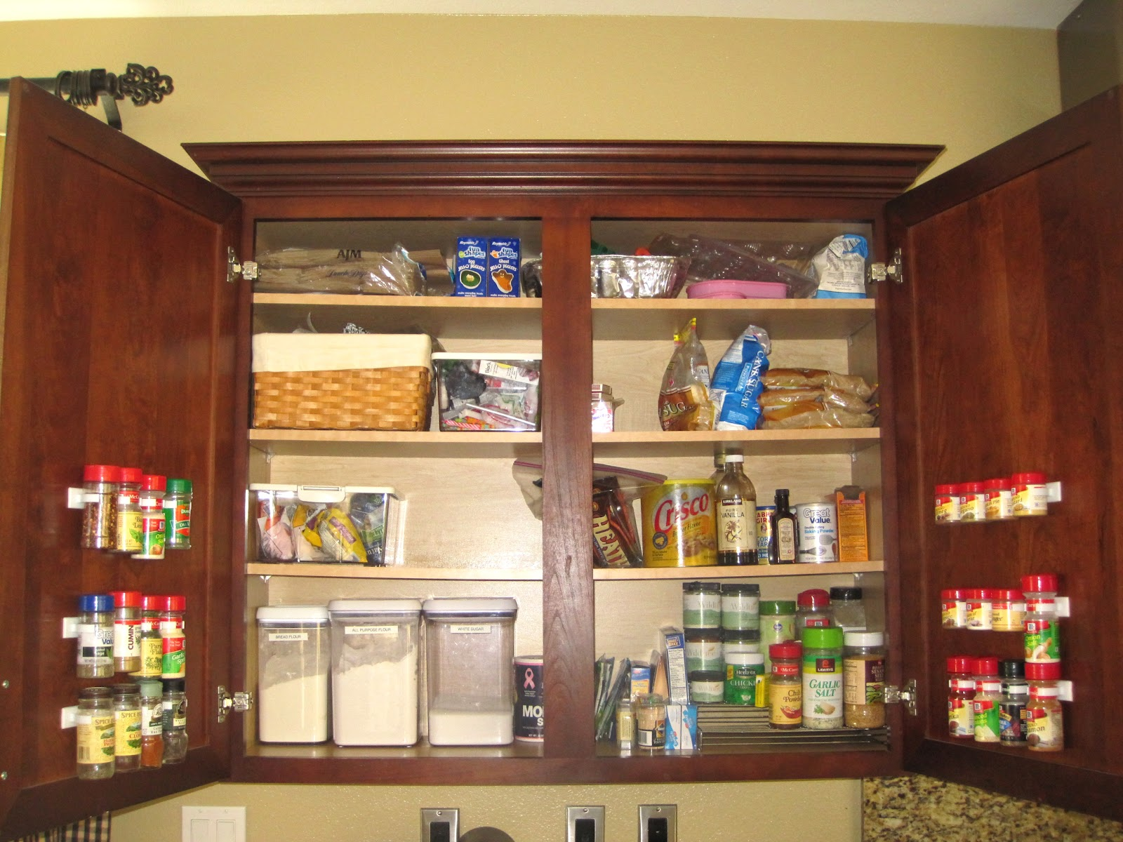 Image of: Awasome Spice Cabinet