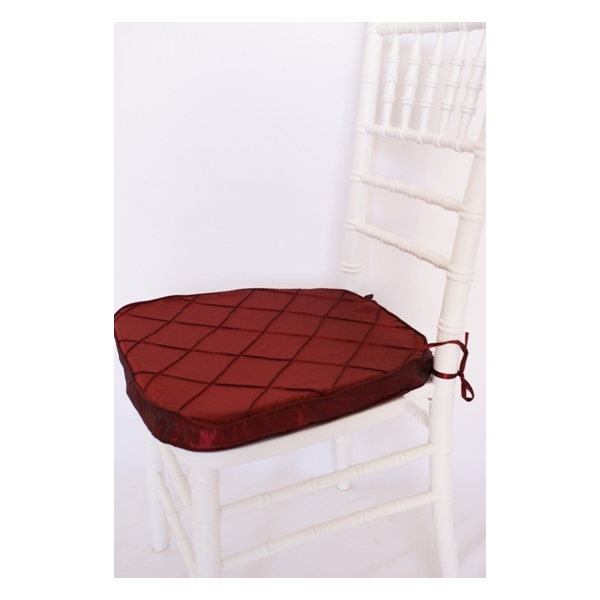 Picture of: Chair Cushions Burgundy