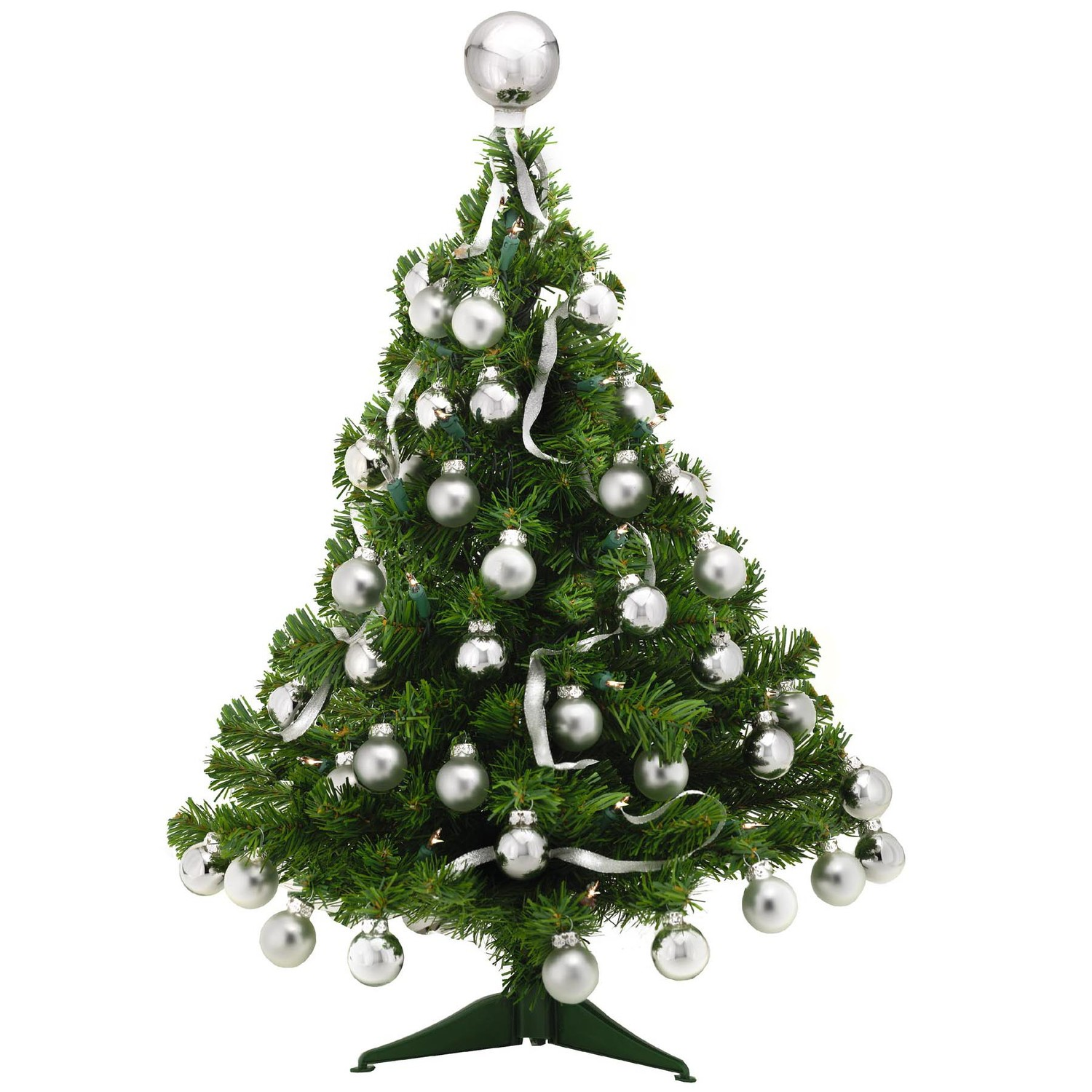 Picture of: Charming Tabletop Christmas Trees