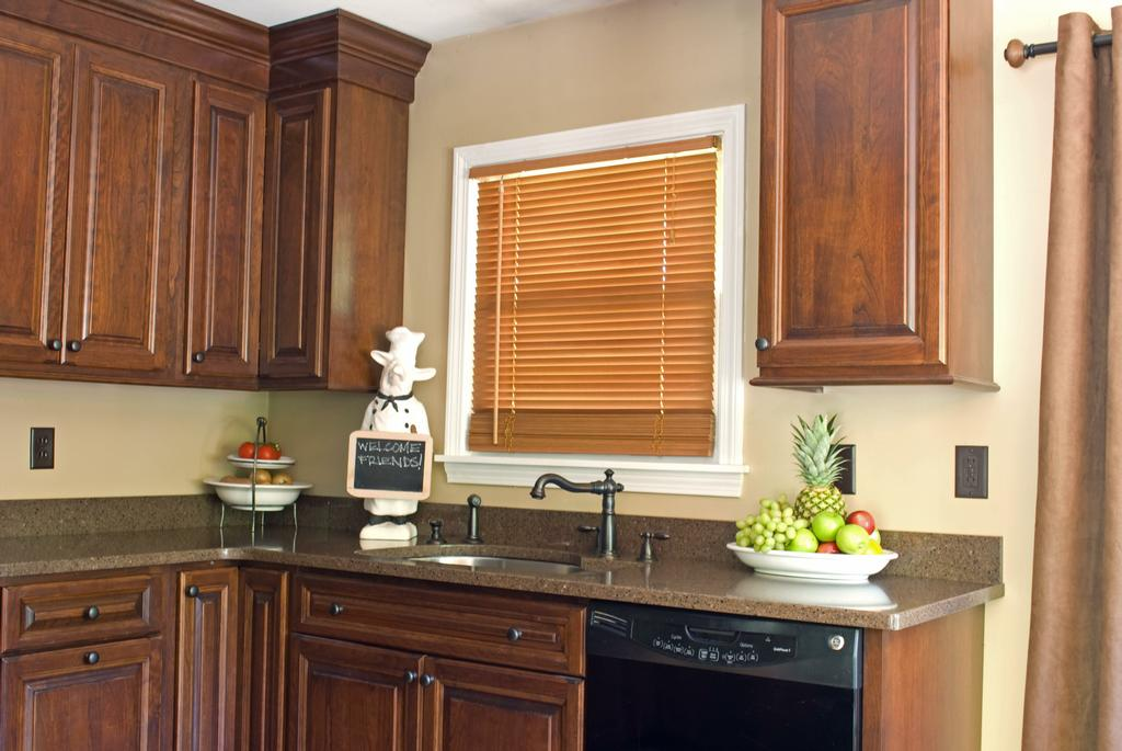 Image of: Cherry Cabinets Interior Design